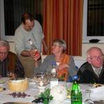 Weinabend mit den Ehrenamtlichen